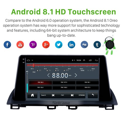 small resolution of hd touchscreen 2014 2015 mazda 3 axela 9 inch android 8 1 gps navigation radio 3g wifi