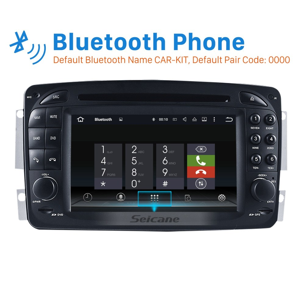 medium resolution of aftermarket android 8 0 gps navigation system for 2000 2005 mercedes 2005 mercedesbenz c320 car stereo wiring and color information