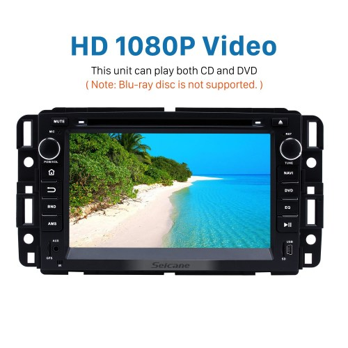 small resolution of  2007 2012 gmc tahoe android 8 0 gps navigation system dvd player bluetooth radio hd 1024
