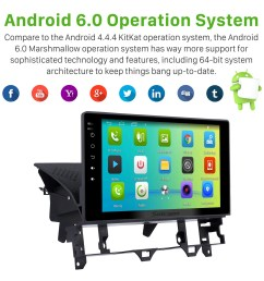 10 1 inch hd touch screen android 6 0 radio for 2003 2008 old mazda 6 with gps  [ 1500 x 1500 Pixel ]