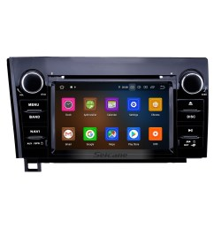 7 inch android 9 0 hd touchscreen gps navigation radio for 2008 2015 toyota sequoia 2006 2013  [ 1500 x 1500 Pixel ]