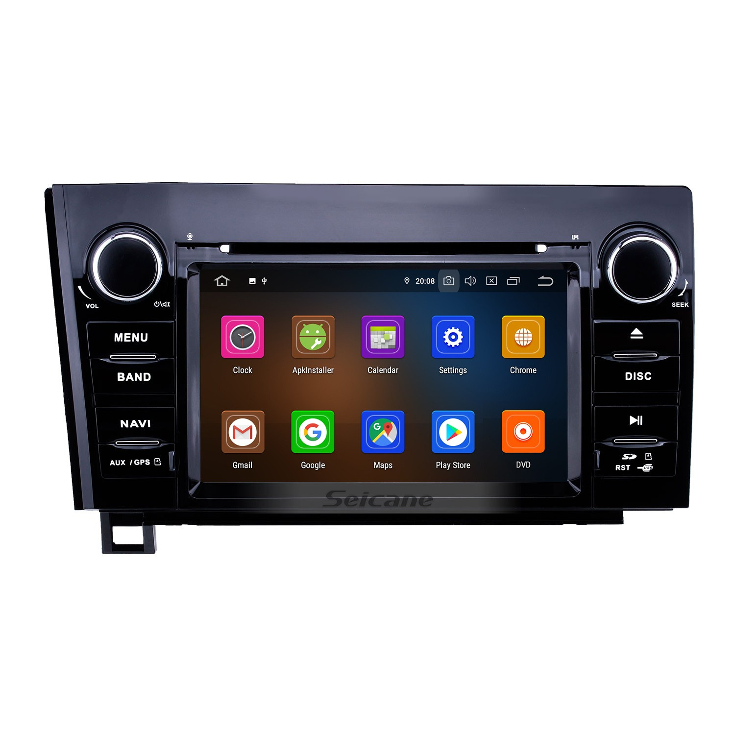 hight resolution of 7 inch android 9 0 hd touchscreen gps navigation radio for 2008 2015 toyota sequoia 2006 2013
