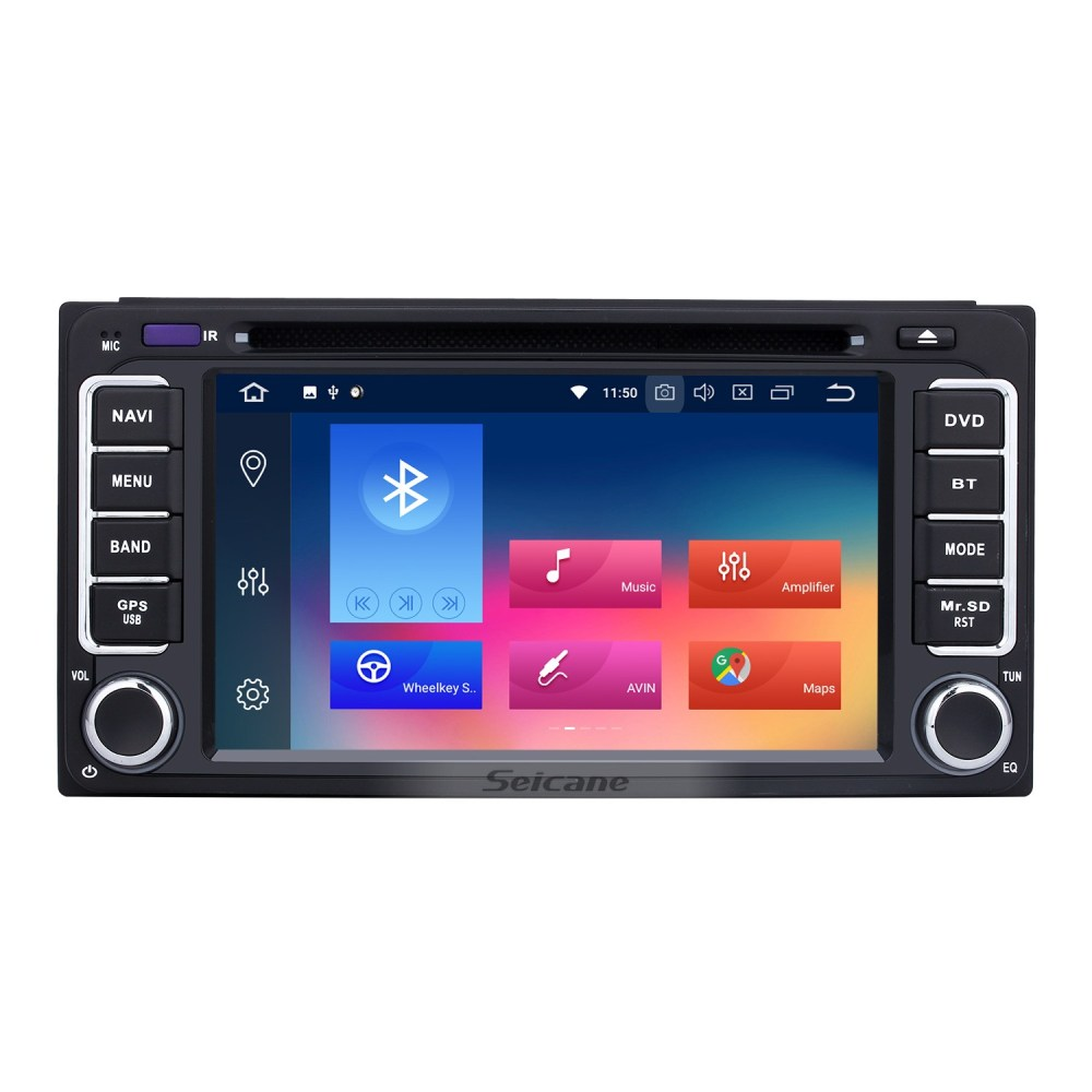 medium resolution of android 8 0 gps navigation system for 1996 2009 toyota prado with touch screen bluetooth music