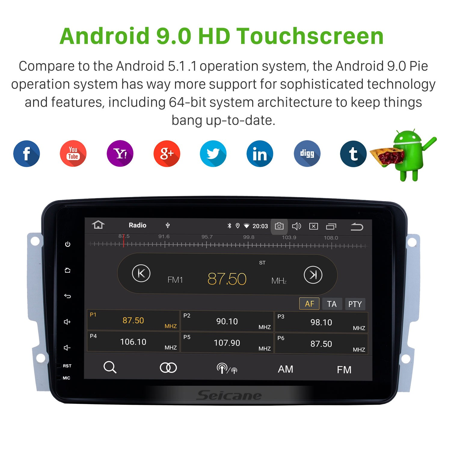 hight resolution of 8 inch android 9 0 2000 2005 mercedes benz c class w203 c180 c200 c220 c230 c240