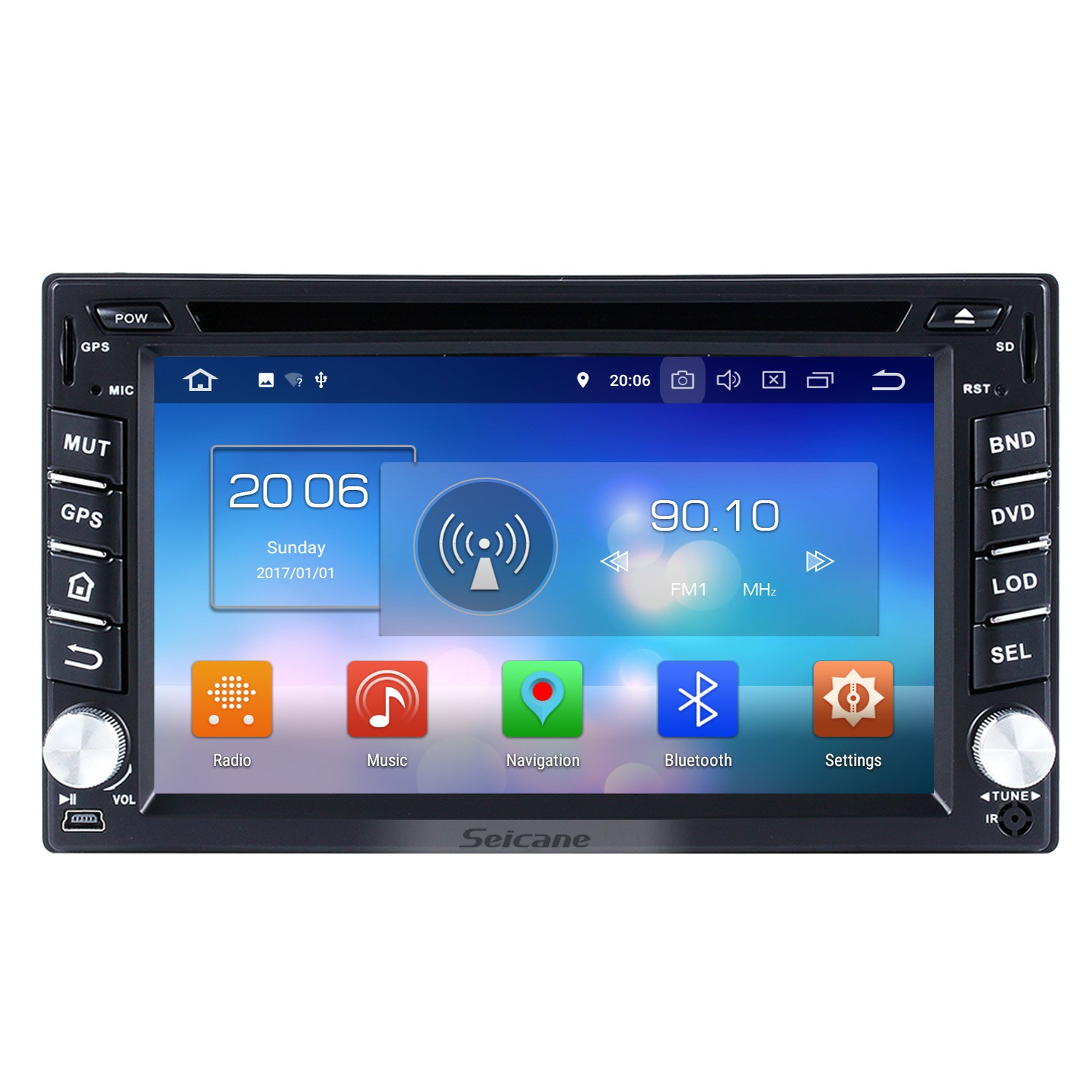 hight resolution of 2001 2010 hyundai matrix android 8 0 radio dvd player gps navigation system hd touch screen mirror