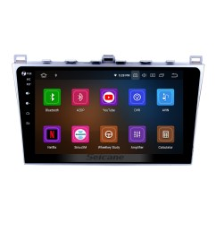 10 1 inch 2008 2015 mazda 6 rui wing android 9 0 radio gps navigation system with full  [ 1500 x 1500 Pixel ]