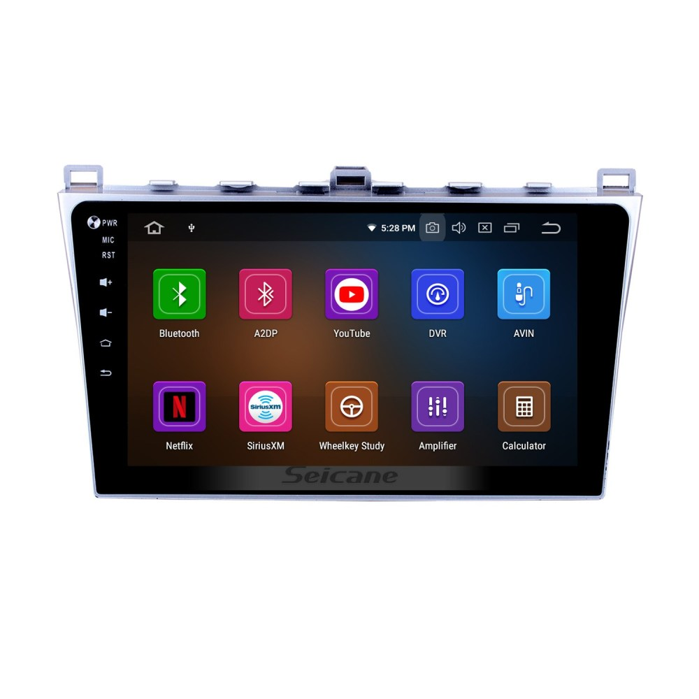 medium resolution of 10 1 inch 2008 2015 mazda 6 rui wing android 9 0 radio gps navigation system with full