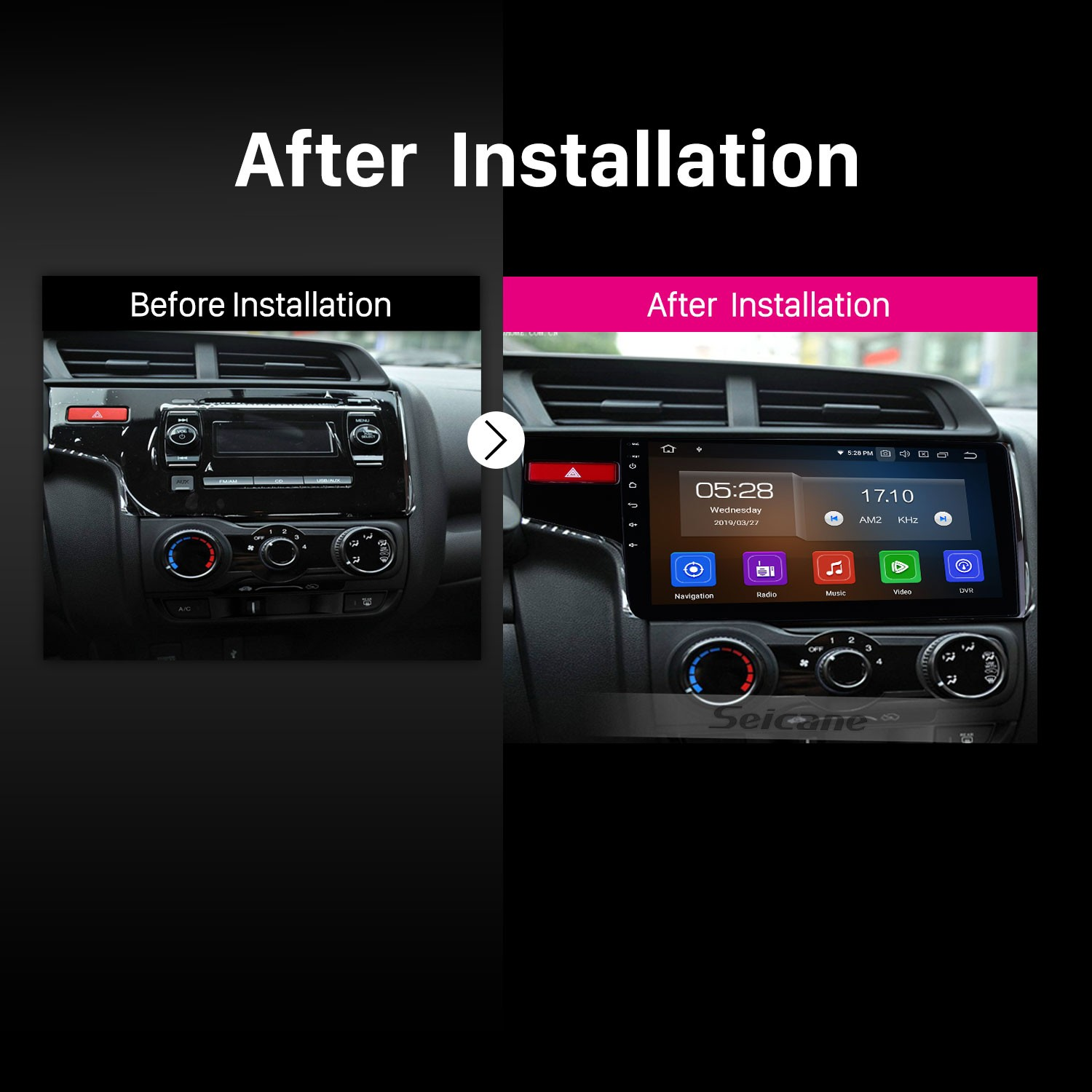 hight resolution of 10 1 inch 2014 2015 2016 honda fit 1024 600 touchscreen android 9 0 radio bluetooth gps