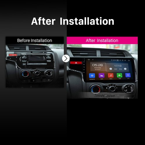 small resolution of 10 1 inch 2014 2015 2016 honda fit 1024 600 touchscreen android 9 0 radio bluetooth gps