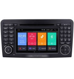 android 9 0 gps navigation car radio dvd player for 2005 2012 mercedes benz ml class  [ 1500 x 1500 Pixel ]