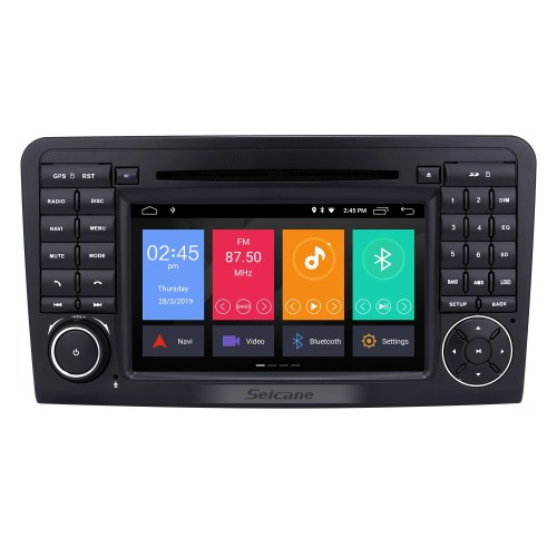 small resolution of android 9 0 gps navigation car radio dvd player for 2005 2012 mercedes benz ml class