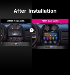 10 1 inch android 9 0 1024 600 touch screen 2014 2015 jeep compass radio bluetooth gps [ 1500 x 1500 Pixel ]