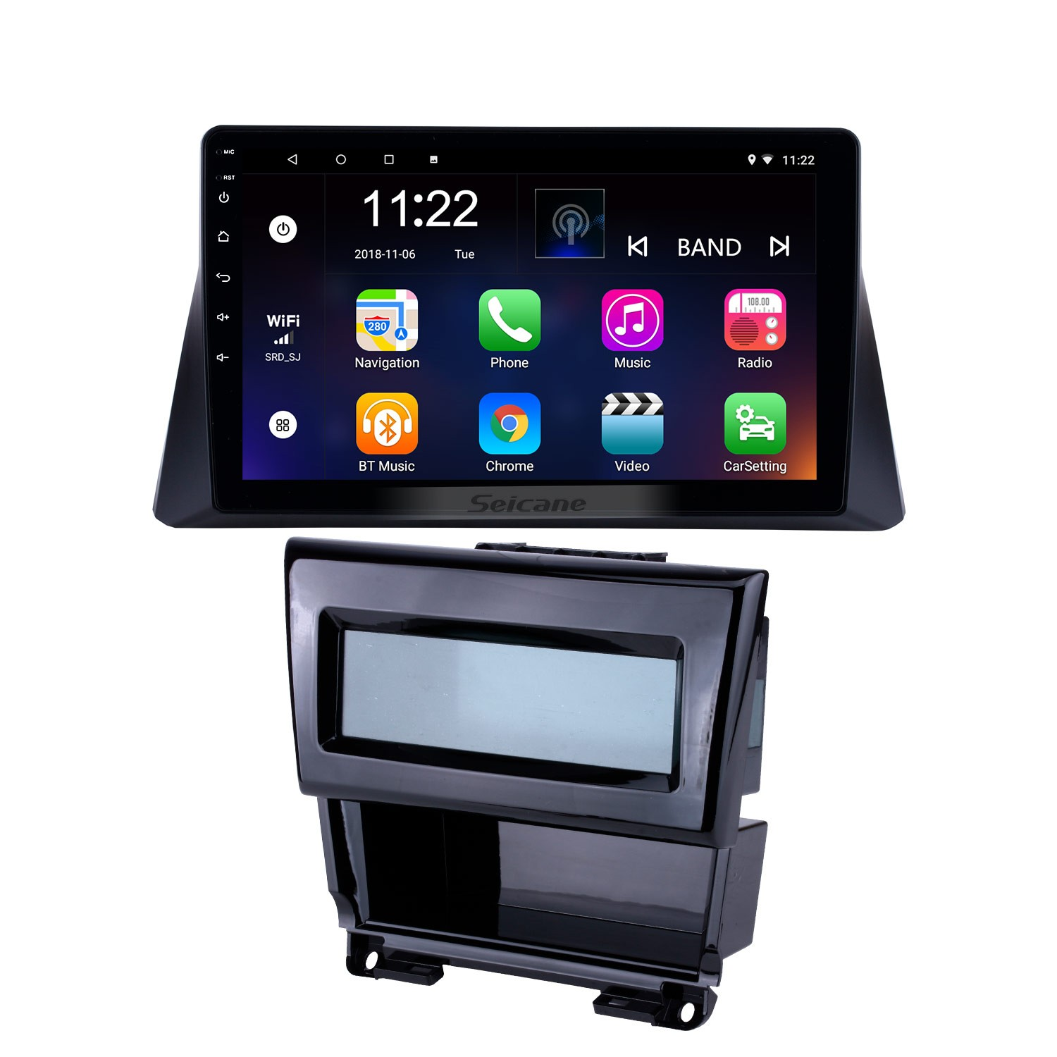 hight resolution of 10 1 inch 2008 2009 2010 2011 2012 honda accord 8 android 8 1 radio gps navigation bluetooth