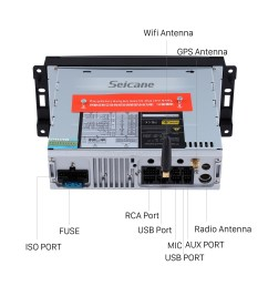 oem 2007 2008 2009 2010 jeep wrangler unlimited android 9 0 radio gps navi dvd player stereo  [ 1500 x 1500 Pixel ]