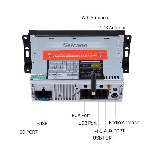 small resolution of  oem 2007 2008 2009 2010 jeep wrangler unlimited android 9 0 radio gps navi dvd player stereo