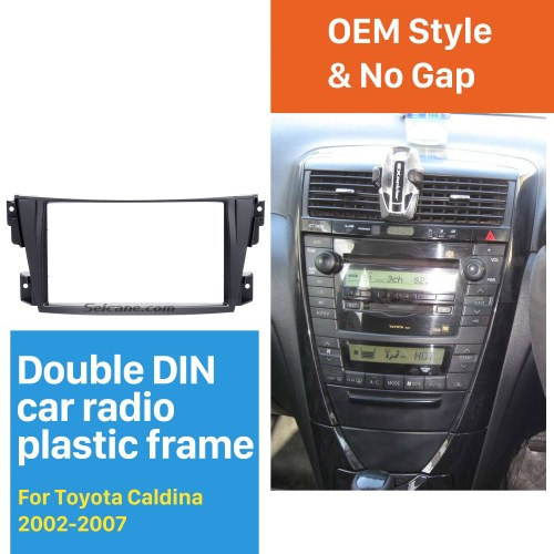 small resolution of trendy double din 2002 2007 toyota caldina car radio fascia stereo dash cd trim panel frame installation kit