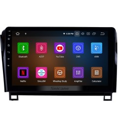 10 1 inch android 9 0 2006 2014 toyota sequoia gps navigation radio ips full screen with music  [ 1500 x 1500 Pixel ]