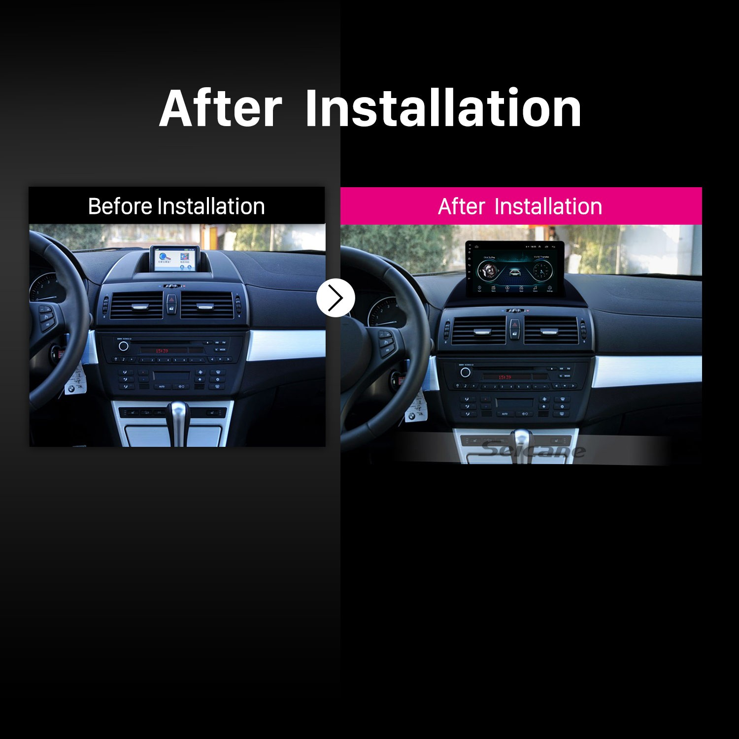 hight resolution of  android 7 1 2004 2012 bmw x3 e83 2 0i 2 5i 2 5si 3 0i