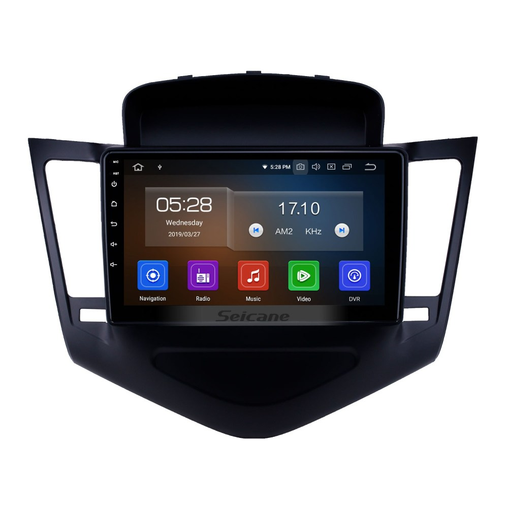 medium resolution of 2013 2015 chevy chevrolet cruze android 9 0 9 inch gps navigation bluetooth radio with usb fm