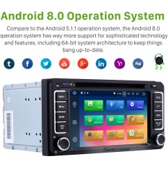 android 8 0 gps navigation system for 1996 2009 toyota prado with touch screen bluetooth music  [ 1500 x 1500 Pixel ]