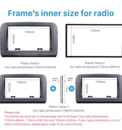 grey double din car radio fascia for 2005 fiat croma stereo dash cd frame panel trim installation kit [ 1500 x 1500 Pixel ]