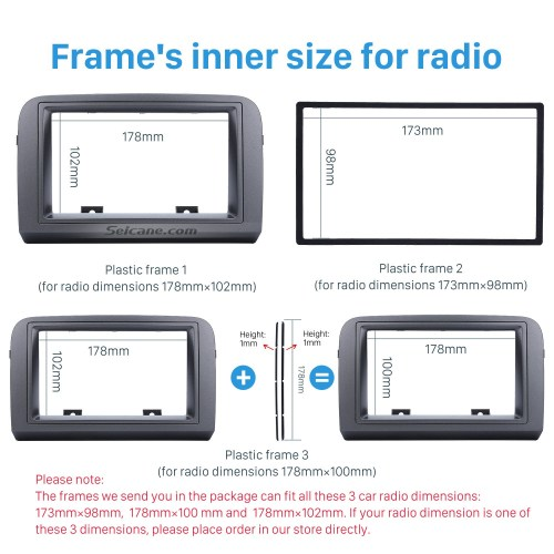 small resolution of grey double din car radio fascia for 2005 fiat croma stereo dash cd frame panel trim installation kit