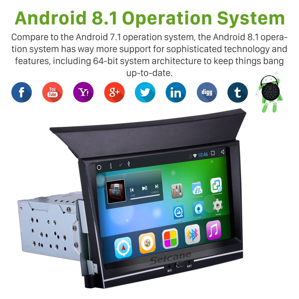medium resolution of 7 inch 1024 600 touch screen 2009 2010 2012 2013 honda pilot android 8 1 gps