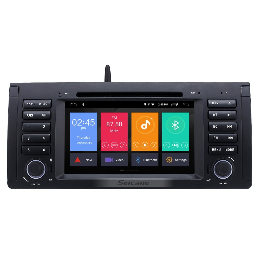 medium resolution of android 9 0 car dvd player for bmw x5 e53 with gps radio tv bluetooth bmw x5 tv tuner wiring diagram