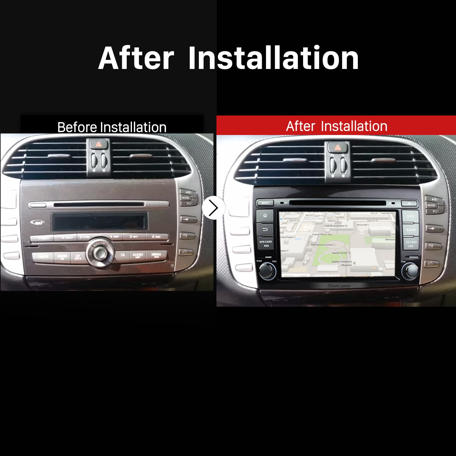 hight resolution of  oem dvd player android 7 1 navigation system for 2007 2012 fiat bravo with gps quad