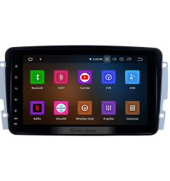 9 inch oem android 4 4 radio capacitive touch screen for 2006 2011 mercedes benz [ 1500 x 1500 Pixel ]