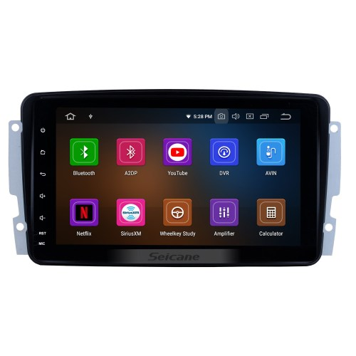 small resolution of 9 inch oem android 4 4 radio capacitive touch screen for 2006 2011 mercedes benz
