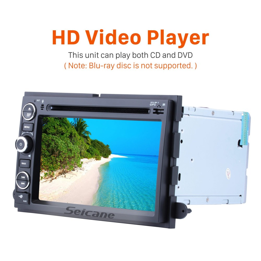 medium resolution of  aftermarket radio android 9 0 7 inch hd touchscreen dvd player for 2006 2009 ford fusion