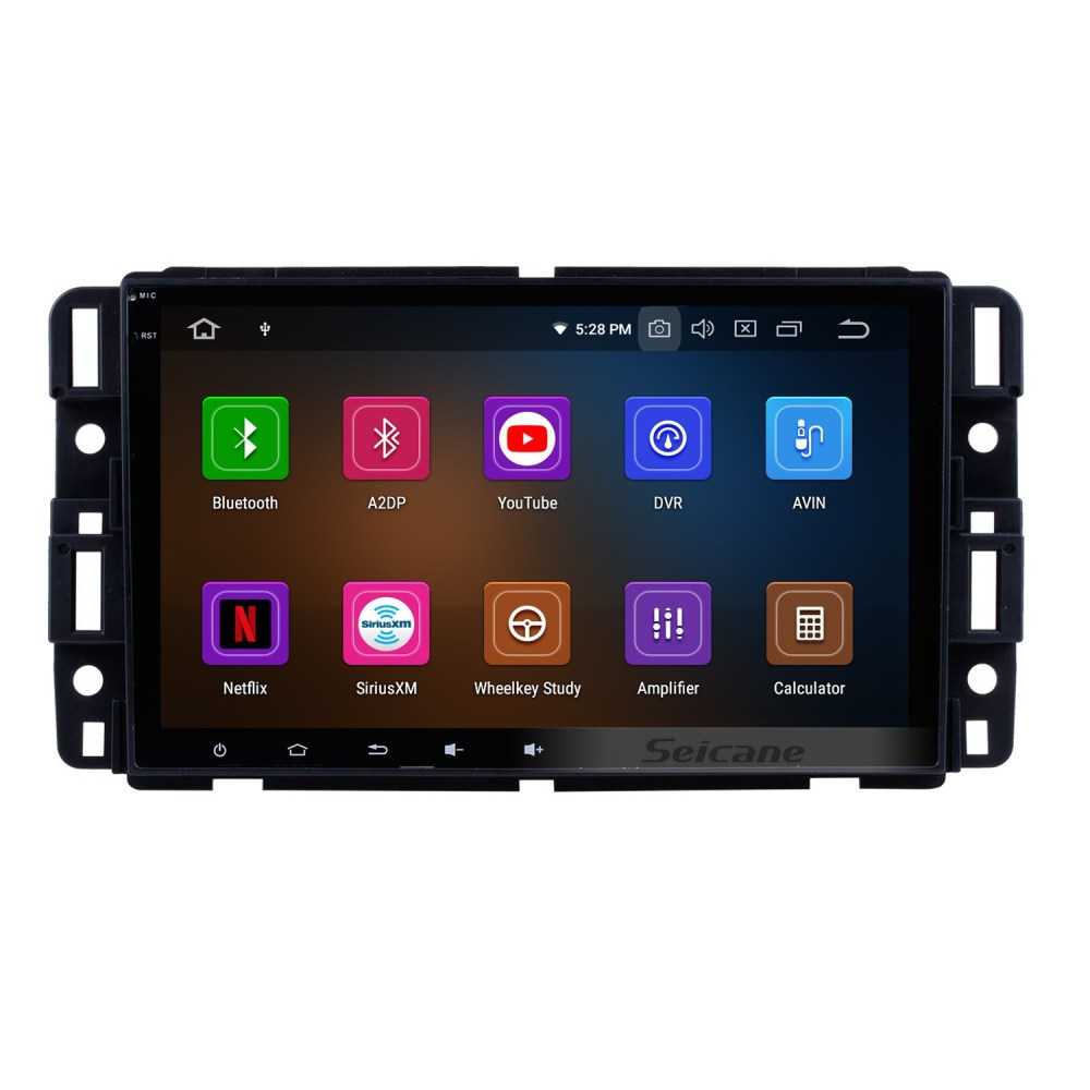 medium resolution of 8 inch android 9 0 hd touchscreen radio head unit for 2009 2010 2011 chevrolet chevy traverse