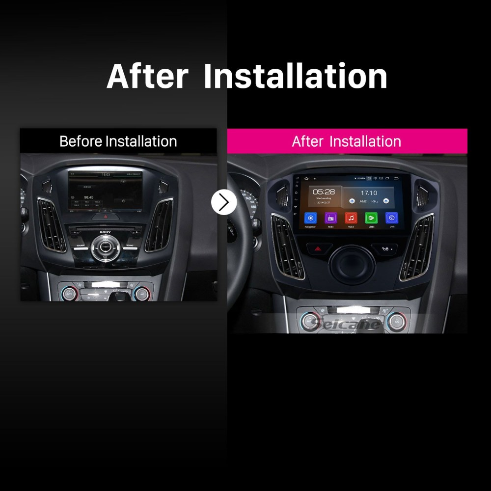 medium resolution of  wiring android 9 0 9 inch 2012 2015 ford focus hd touchscreen gps on ford sync