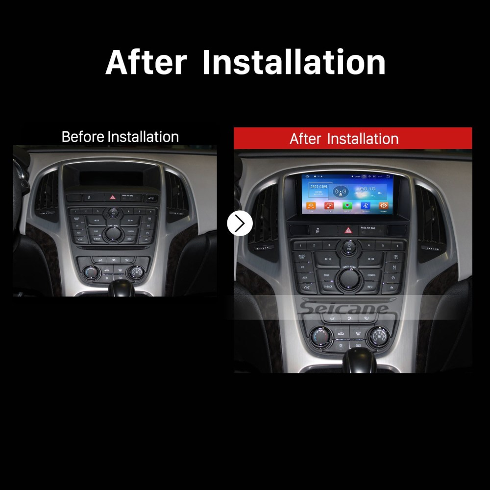 medium resolution of oem android 8 0 radio dvd player gps navigation system for 2010 2013 opel astra j with
