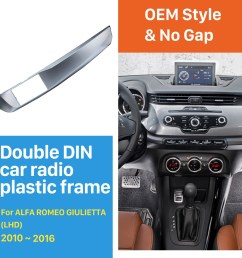 double din car radio fascia for 2010 2016 alfa romeo giulietta left on alfa romeo  [ 1500 x 1500 Pixel ]