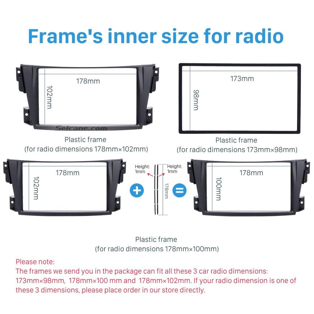 medium resolution of trendy double din 2002 2007 toyota caldina car radio fascia stereo dash cd trim panel frame installation kit