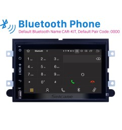 android 9 0 dvd gps in dash radio system for 2005 2009 ford mustang with 3g wifi  [ 1500 x 1500 Pixel ]
