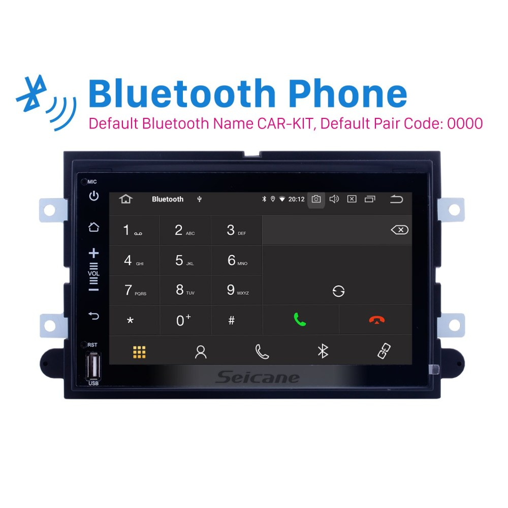 medium resolution of android 9 0 dvd gps in dash radio system for 2005 2009 ford mustang with 3g wifi
