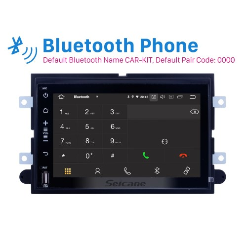 small resolution of android 9 0 dvd gps in dash radio system for 2005 2009 ford mustang with 3g wifi