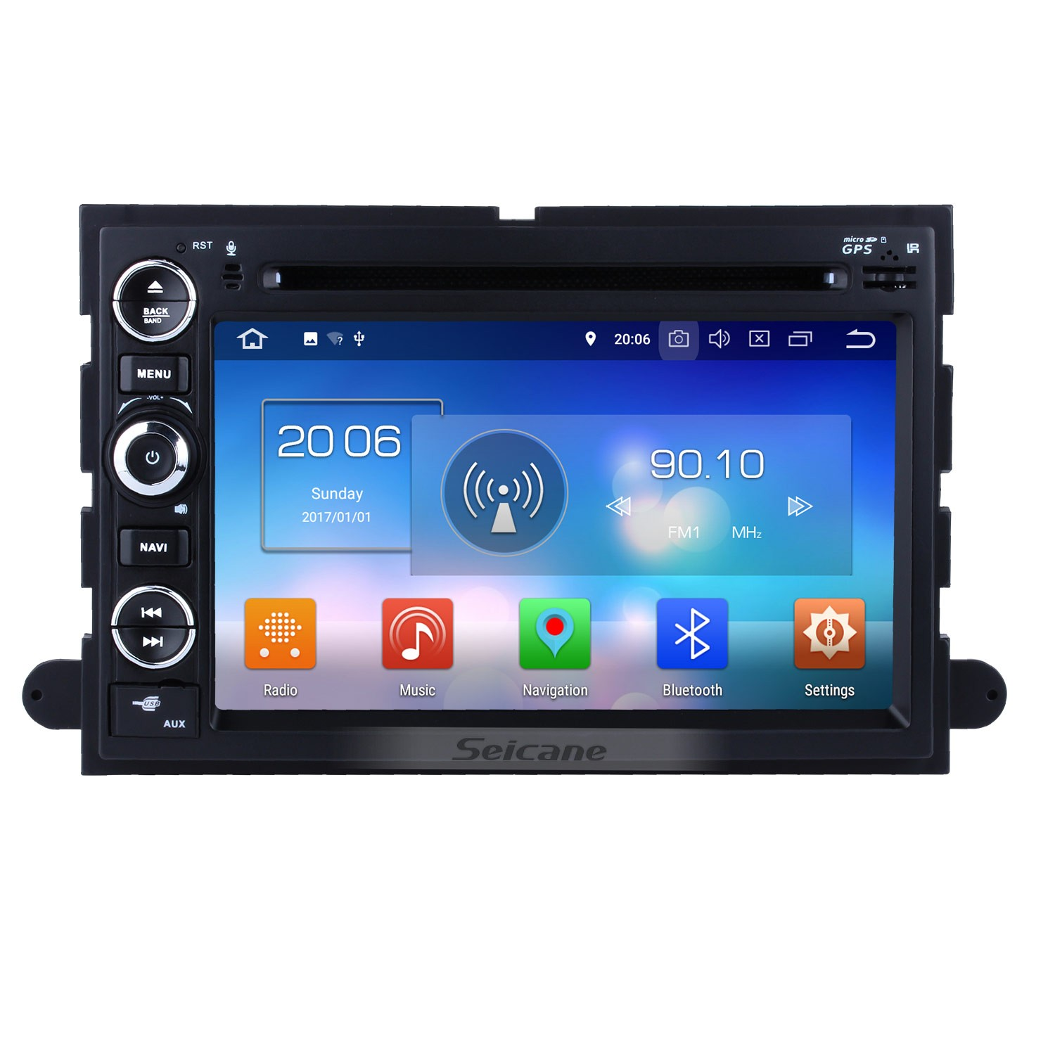 hight resolution of android 8 0 radio head unit 7 inch hd touchscreen for 2004 2014 ford f150 f250