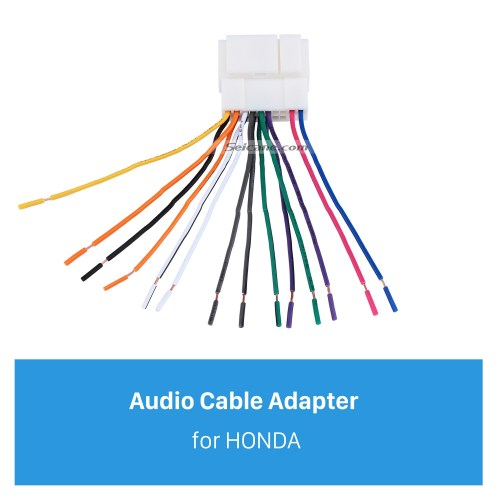 small resolution of high quality wiring harness adapter audio plug cable for honda accord 2 4l odyssey fit city new