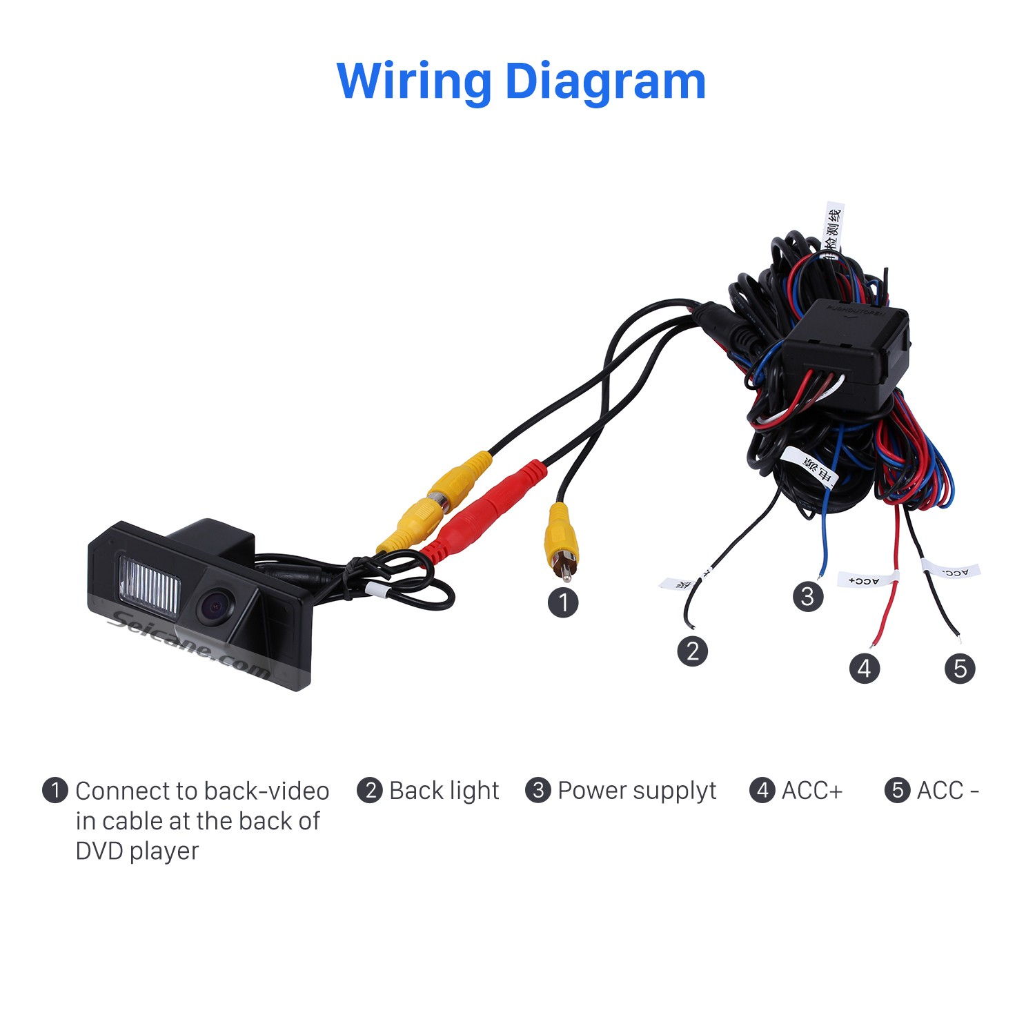 hight resolution of hd sony ccd 600 tv lines wired car parking backup reversing camera for mitsubishi asx waterproof