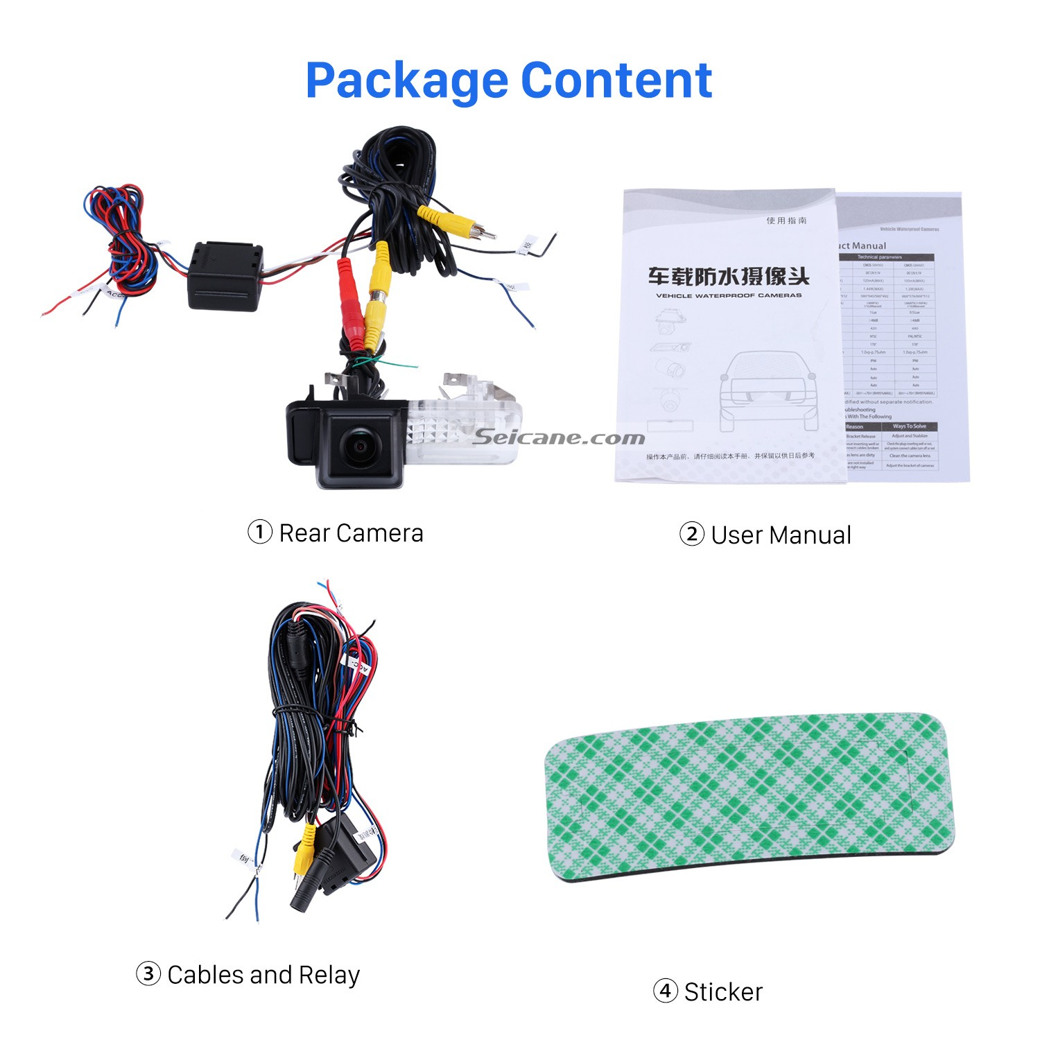 hight resolution of hd sony ccd 600 tv lines wired car parking backup reversing camera for 2008 2013