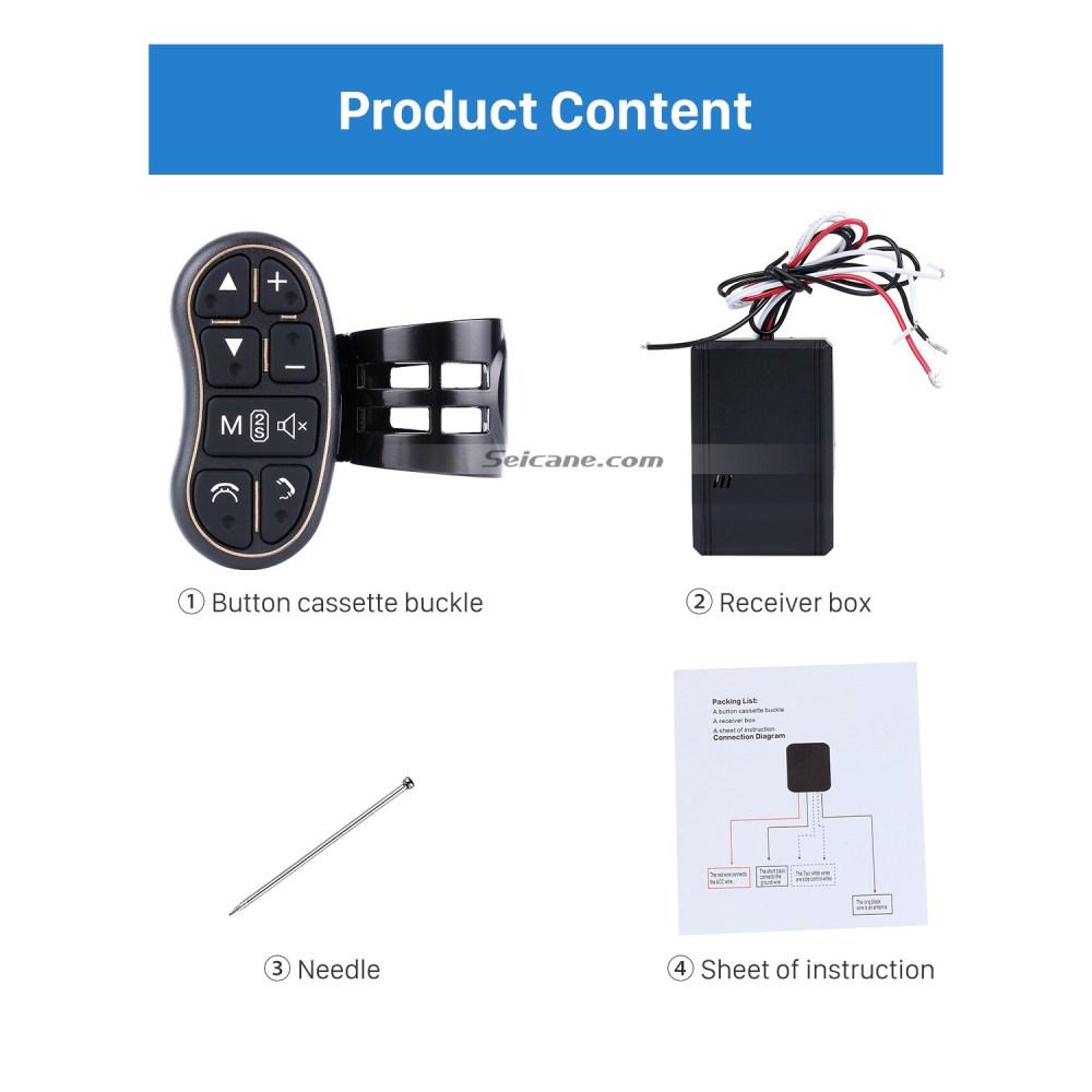 medium resolution of universal multifunctional wireless steering wheel controller for car dvd player gps navigation system
