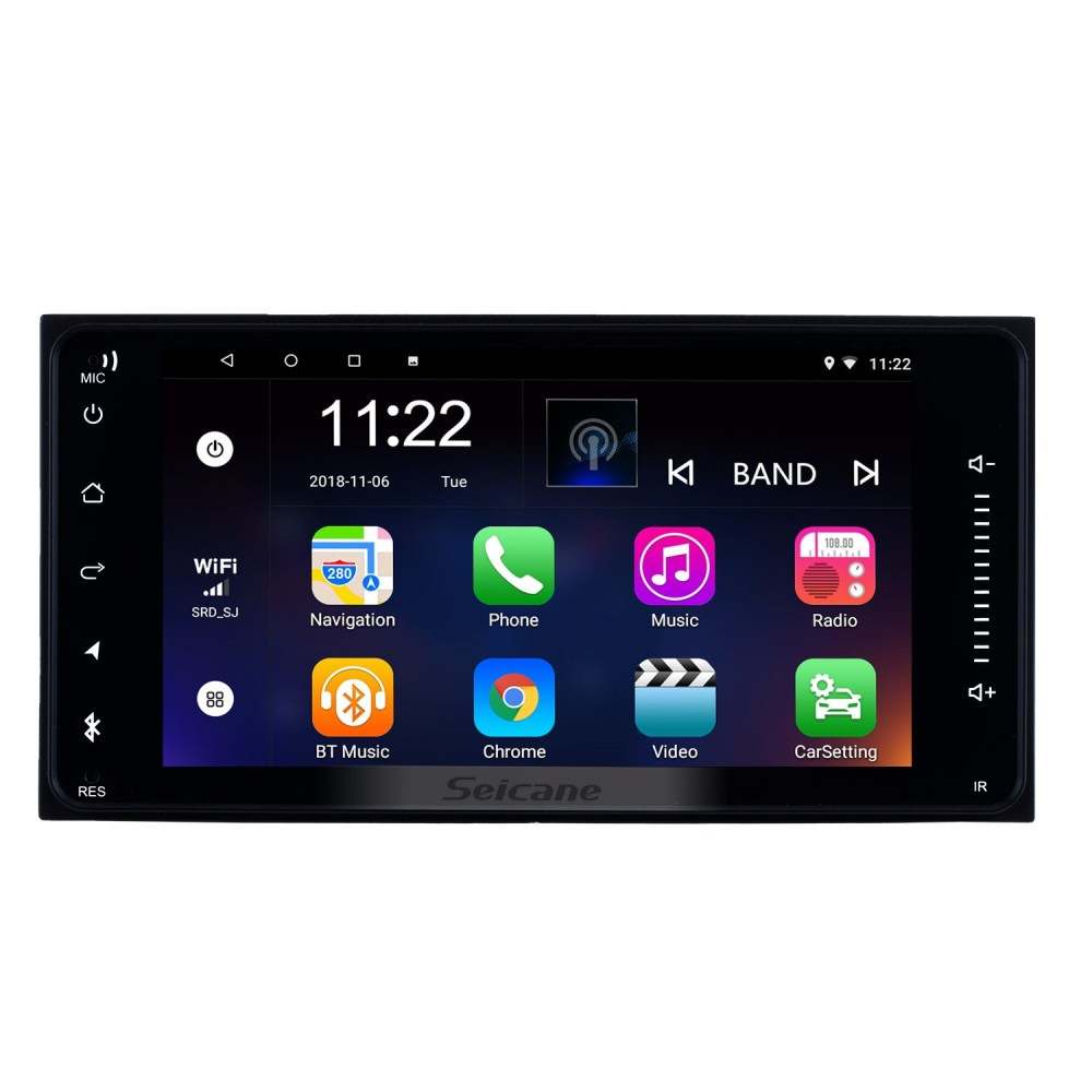 medium resolution of quad core android 4 4 4 gps navigation system for 2004 2010 toyota sienna