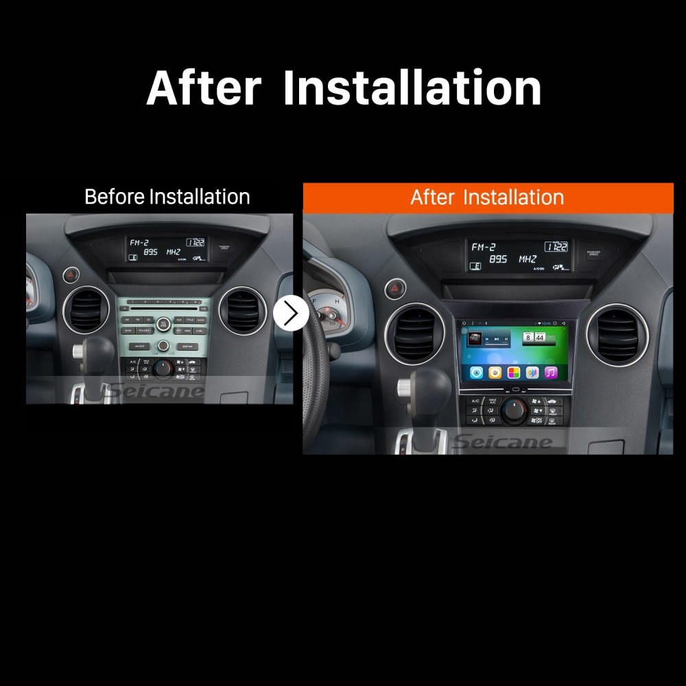 medium resolution of  7 pulgadas 1024 600 pantalla t ctil 2009 2010 2012 2013 honda pilot android 8 1 sistema