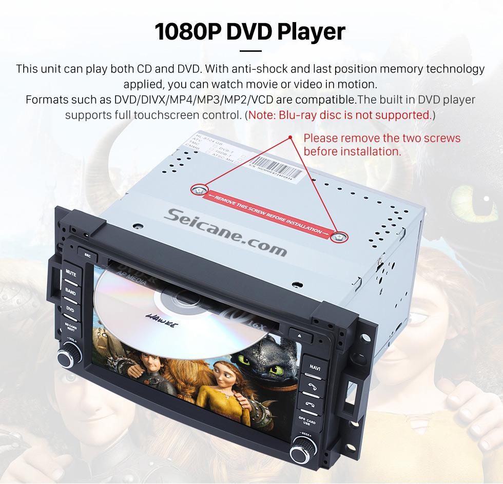 hight resolution of  seicane pontiac montana sv6 dvd player gps navigation system with radio tv bluetooth