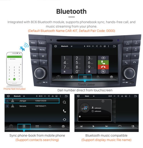 small resolution of  seicane android 7 1 gps navigation system for 2001 2008 mercedes benz g class