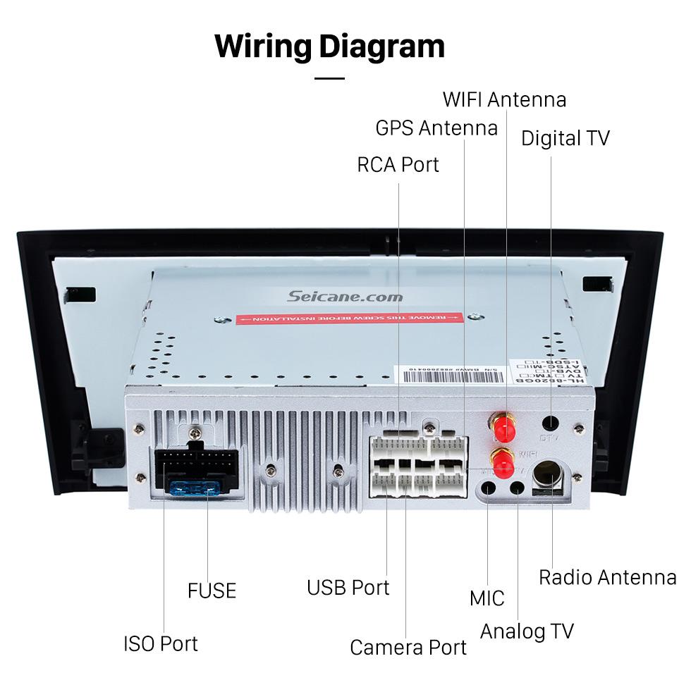 hight resolution of  seicane android 8 0 gps radio dvd for 2004 2012 bmw 1 series e81 e82 e88